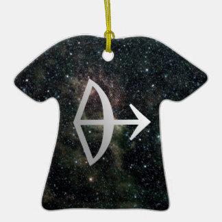 Sagittarius Zodiac Star Sign Universe Birthday Christmas Ornament