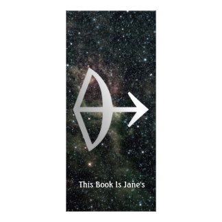 Sagittarius Zodiac Star Sign Universe Bookmark Custom Rack Card