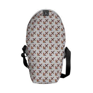 Sagittarius Zodiac Symbol Element Courier Bag