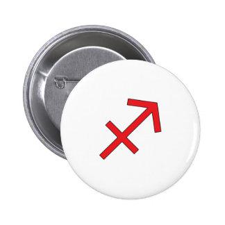 Sagittarius, Zodiac symbol, horoscope Pinback Buttons