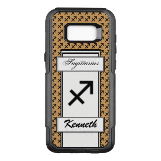 Sagittarius Zodiac Symbol Stnd by Kenneth Yoncich OtterBox Commuter Samsung Galaxy S8+ Case