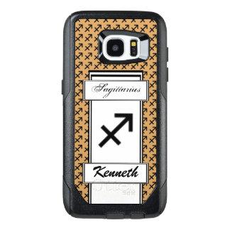 Sagittarius Zodiac Symbol Stnd by Kenneth Yoncich OtterBox Samsung Galaxy S7 Edge Case