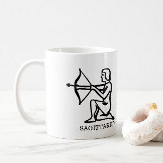SAGITTARIUS  Zodiac Vintage Archer Horoscope Coffee Mug