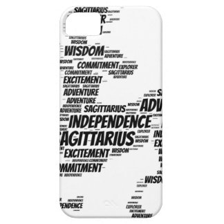 Sagitttarius Astrology Zodiac Sign Word Cloud Case For The iPhone 5