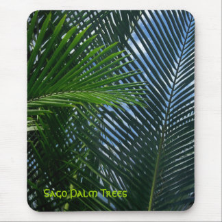 Sago Palm Trees Mouse Pad