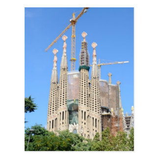 Sagrada Familia. 2015 calendar Postcard