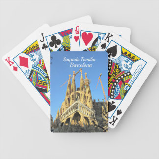Sagrada Familia, Barcelona, Spain Bicycle Playing Cards