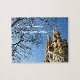 Sagrada Familia, Barcelona, Spain Jigsaw Puzzle