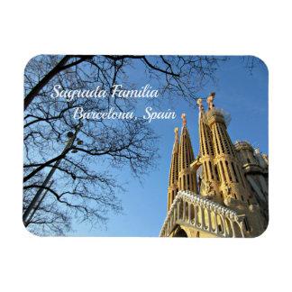 Sagrada Familia, Barcelona, Spain Magnet