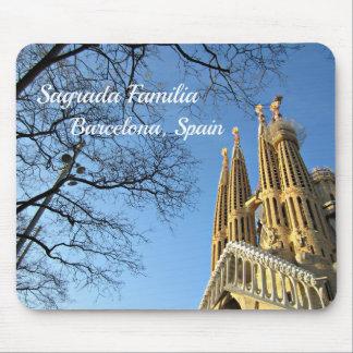 Sagrada Familia, Barcelona, Spain Mouse Pad