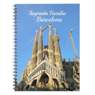 Sagrada Familia, Barcelona, Spain Notebooks