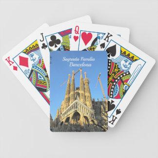 Sagrada Familia, Barcelona, Spain Poker Deck