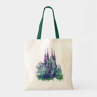 Sagrada Familia Barcelona Tote Bag