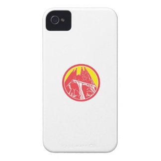 Sagrada Família Church Retro Case-Mate iPhone 4 Case