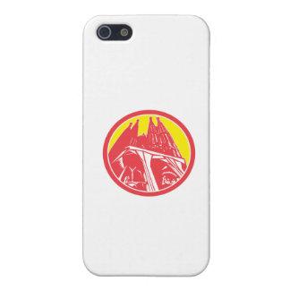 Sagrada Família Church Retro iPhone 5 Cases