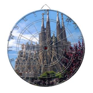 Sagrada Família Dartboard