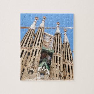 Sagrada Familia in Barcelona, Spain Jigsaw Puzzle