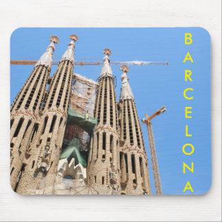 Sagrada Familia in Barcelona, Spain Mouse Pad