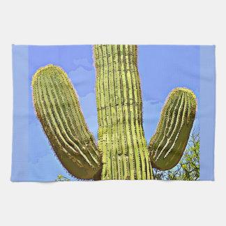 Saguaro Arms in Cartoon Kitchen Towel