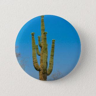Saguaro Cactus 6 Cm Round Badge