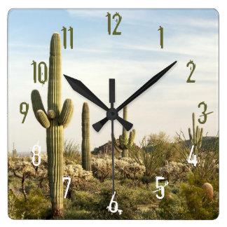 Saguaro Cactus, Arizona,USA Wallclock