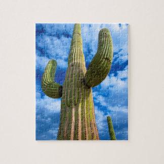 Saguaro cactus portrait, Arizona Puzzle