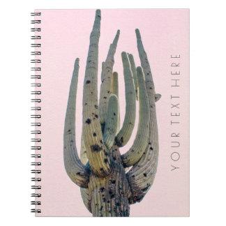 Saguaro Cutout   Spiral Notebook