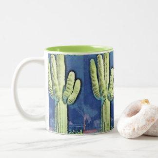 Saguaro in Cartoon Coffee Mug