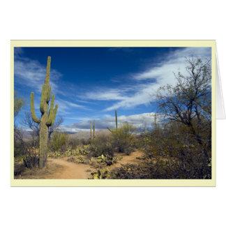 Saguaro Landscape Card