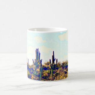 Saguaro on Hill Coffee Mug/Cup Coffee Mug