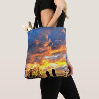 Saguaro sky Tote Bag
