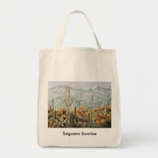 Saguaro Sunrise Tote Bag