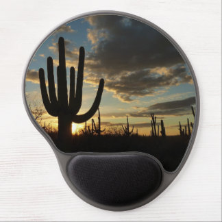 Saguaro Sunset Gel Mousepad