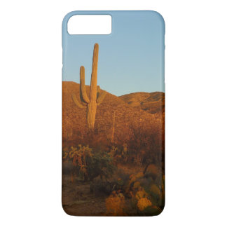 Saguaro Sunset I Arizona Desert Landscape iPhone 7 Plus Case