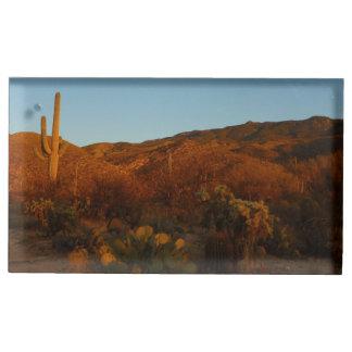 Saguaro Sunset I Table Number Holder