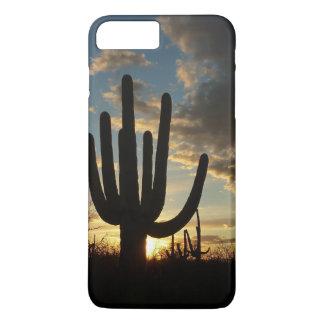 Saguaro Sunset II Arizona Desert Landscape iPhone 7 Plus Case