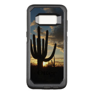 Saguaro Sunset II Arizona Desert Landscape OtterBox Commuter Samsung Galaxy S8 Case