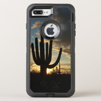 Saguaro Sunset II Arizona Desert Landscape OtterBox Defender iPhone 7 Plus Case