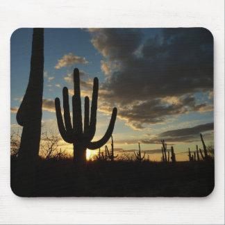 Saguaro Sunset II Arizona Landscape Mouse Pad