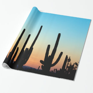 Saguaro Sunset Wrapping Paper