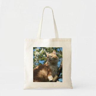 Sahara Cat In A Tree Tote Bag