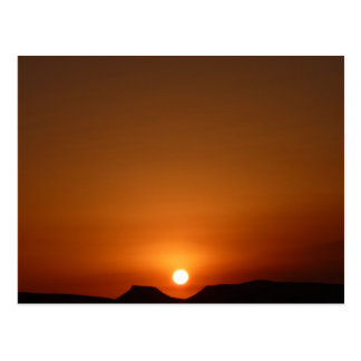 Sahara Sunset Postcard
