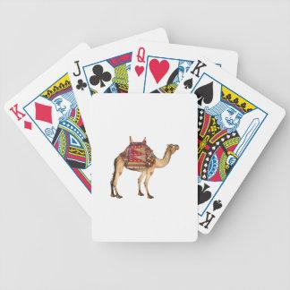 Saharan Taxi Bicycle Playing Cards