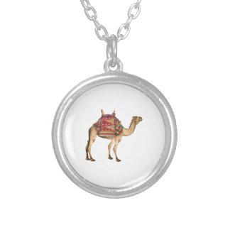 Saharan Taxi Silver Plated Necklace