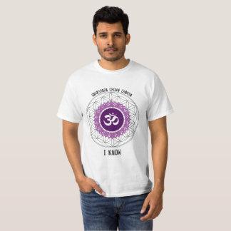 Sahasrara Crown Chakra Flower of Life shirt