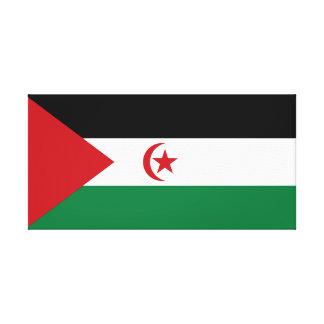 Sahrawi Arab Democratic Republic Canvas Print