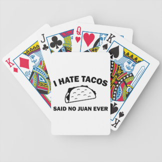 Said No Juan Ever Bicycle Playing Cards