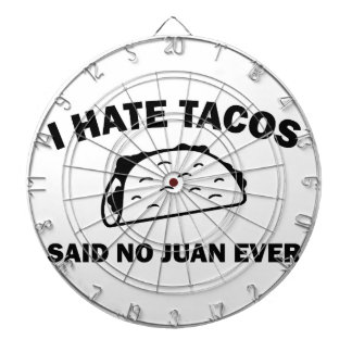 Said No Juan Ever Dartboard