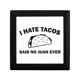 Said No Juan Ever Gift Box