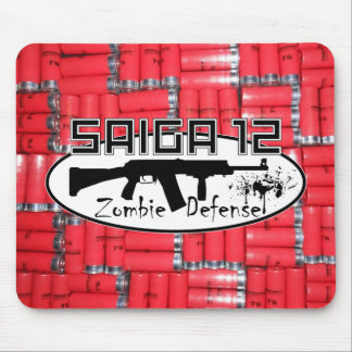 Saiga 12 - Zombie Defense Mouse Mat